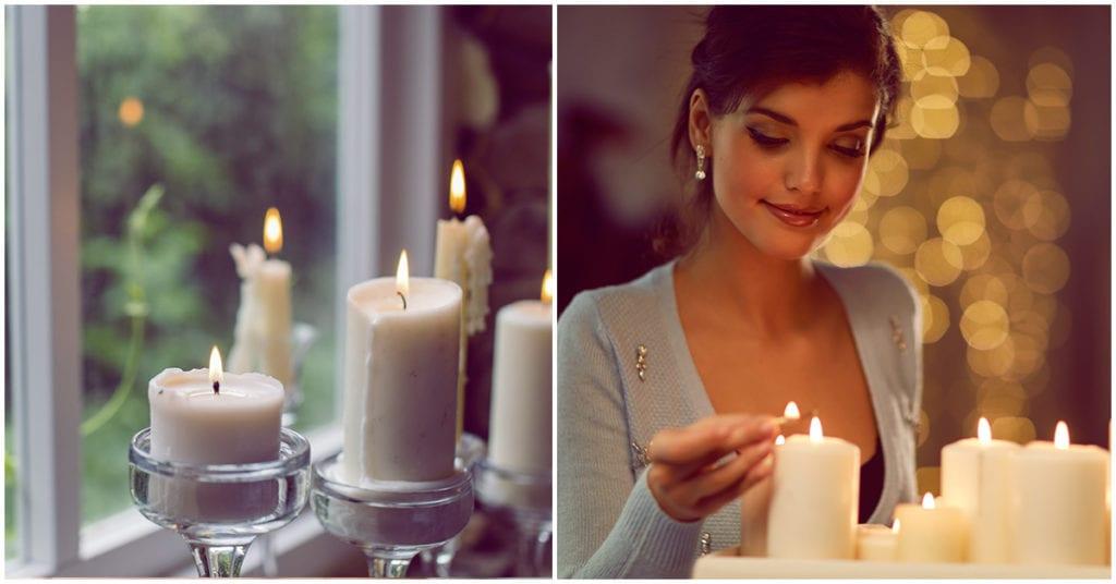 Dime cómo se derriten las velas de tu casa y te diré algo sobre tu vida