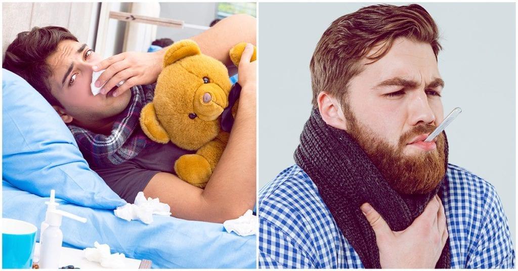 ¡Pfff!, según la ciencia, ellos si se ponen más mal cuando tienen gripe