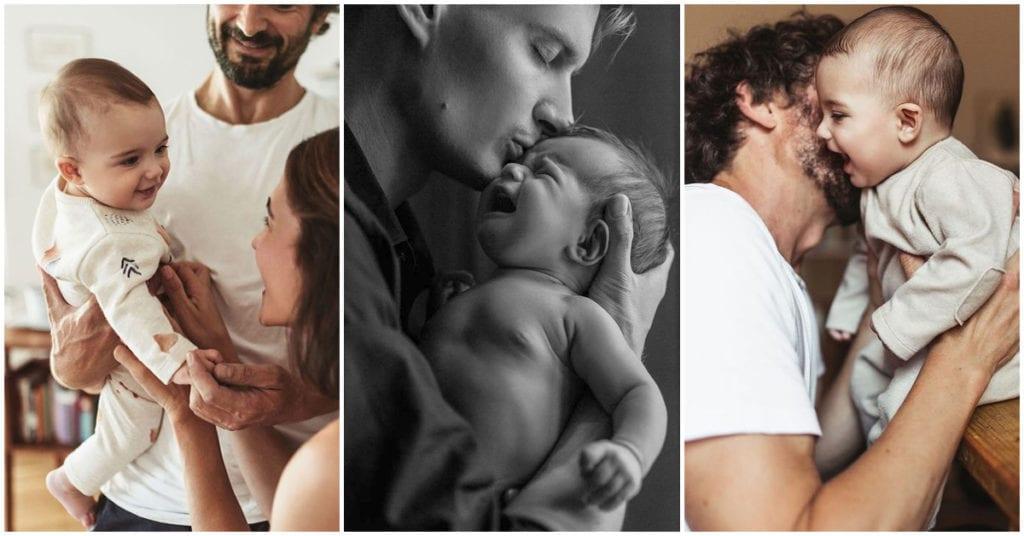 Cosas que delatan que tu pareja va a ser un gran papá