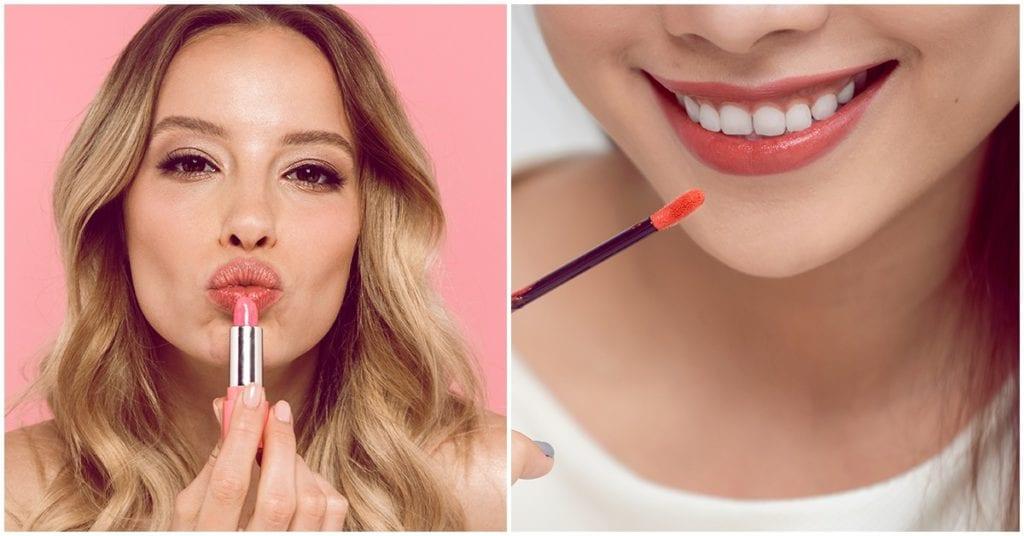 Aprende a delinear tus labios de forma correcta 💋💄