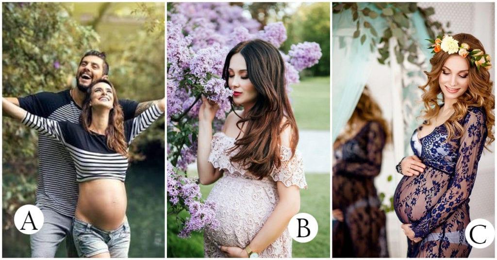 Los mejores outfits para una sesión de fotos cuando estás embarazada