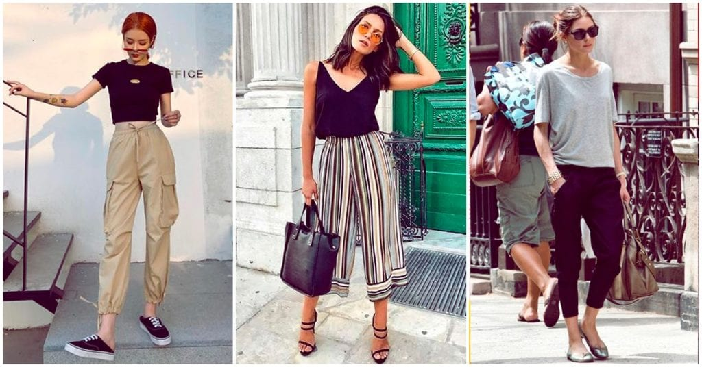 Pantalones que puedes usar para sentirte fresca en verano (y no son jeans)