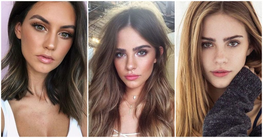 Tips de makeup para chicas con cara triangular