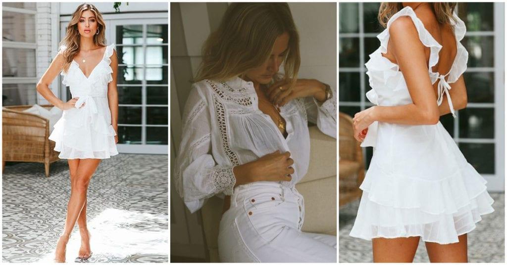 Tips para que no se vea la ropa interior con prendas blancas