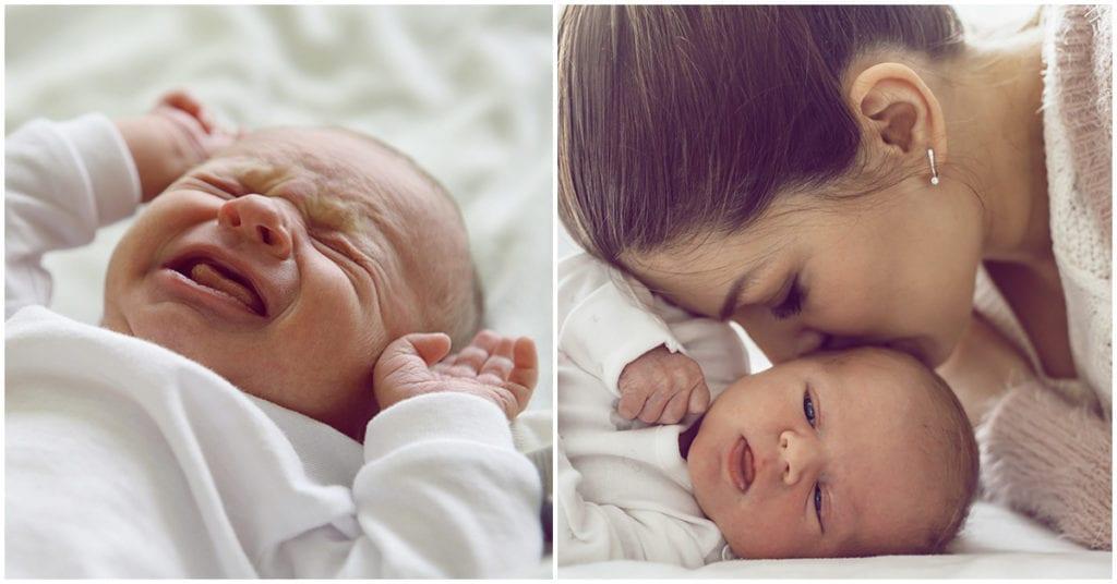 Esto es lo que sienten los bebés durante el parto