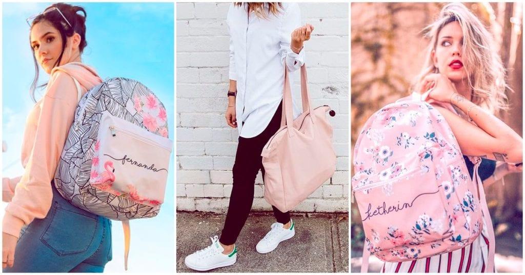 Mochilas y bolsas para ir a la uni, ¡todos son hermosos!