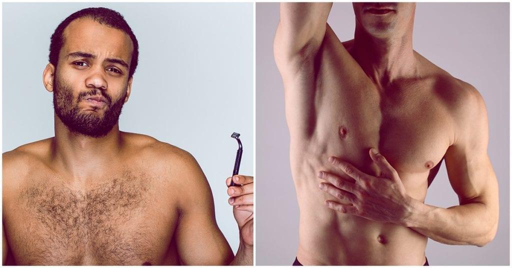 Hombres depilados: conoce los pros y los contras de salir con uno de ellos