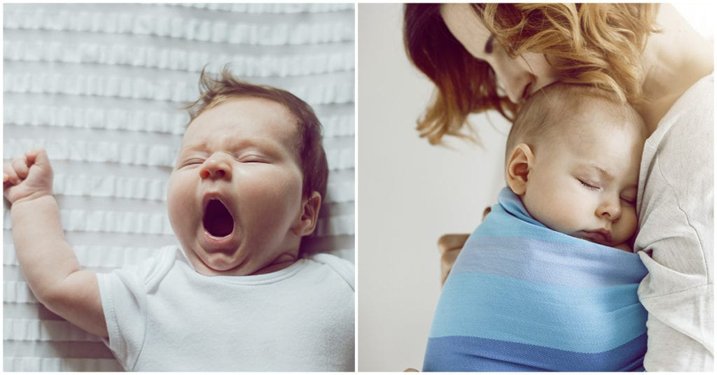 Trucos para que no te espantes mientras duerme tu bebé