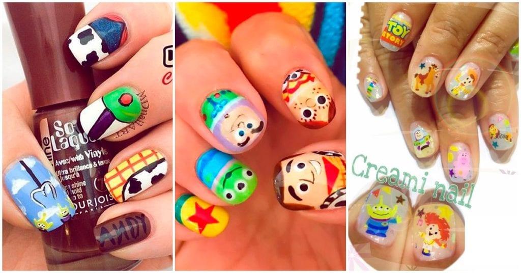 Nail art de Toy Story, ¡amamos todos los diseños!