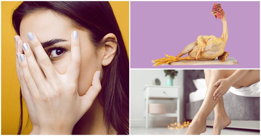 Cómo eliminar la piel de gallina de tus piernas rápido y sin sufrir