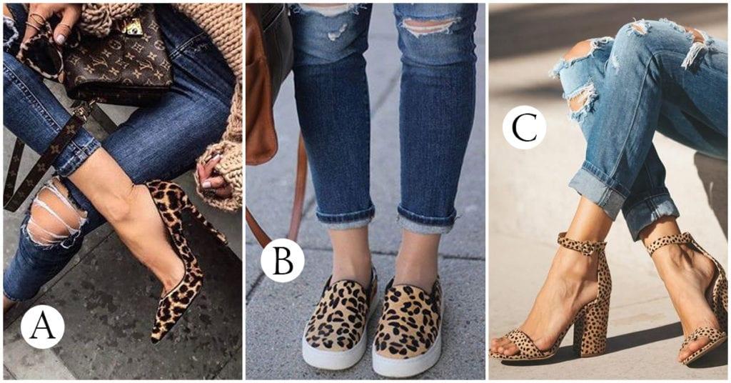 Tacones y zapatitos de animal print: ¿con qué los combinamos?