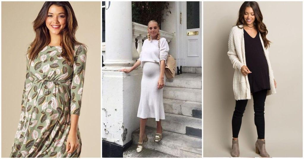 Outfits para chicas embarazadas en época de calor o lluvia