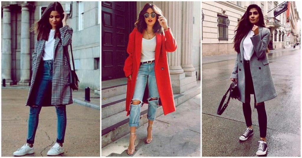 Pantalón + abrigo, ¡aprende a combinarlos!