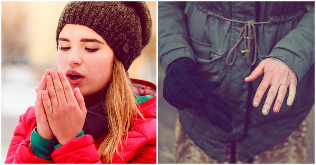 Alimentos que te ayudarán si eres la chica frozen (manos frías)