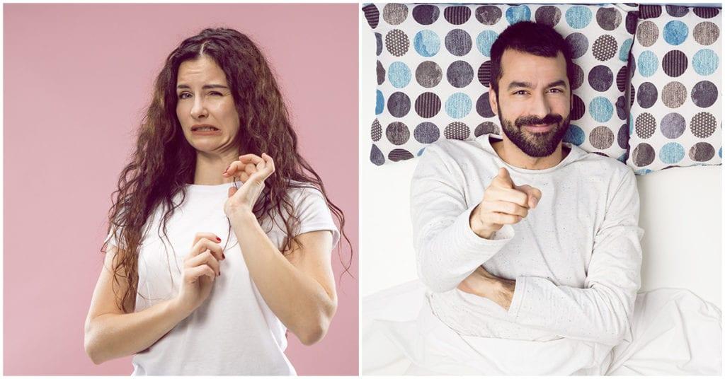 Puede que las sábanas de tu novio estén más sucias que un inodoro; ewww!