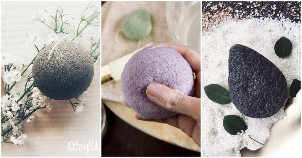 Esponjas de fibras naturales para desmaquillarte: ¡super sí!