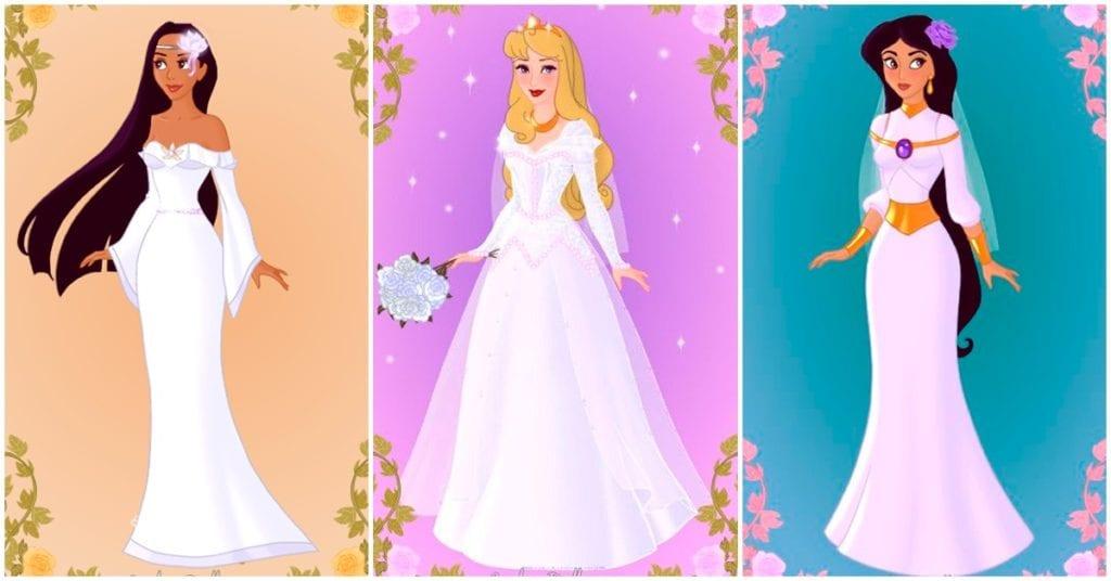 Vestidos de novia inspirados en las princesas favoritas