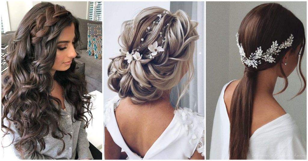 Estos son los peinados de moda para las novias; ¡están hermosos!