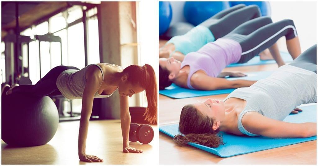 Rutina de pilates para fortalecer y aplanar tu abdomen