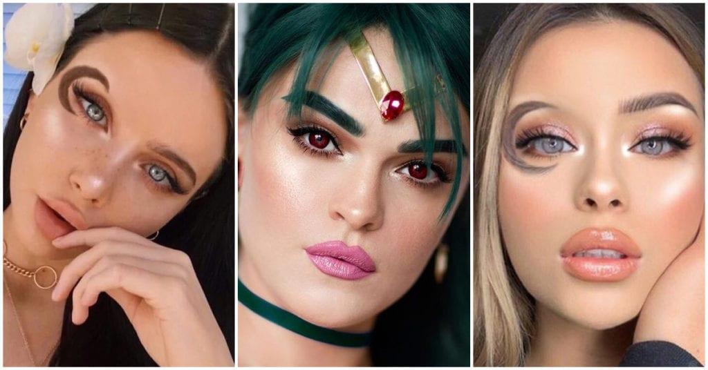 La nueva tendencia en cejas inspirada en Sailor Moon