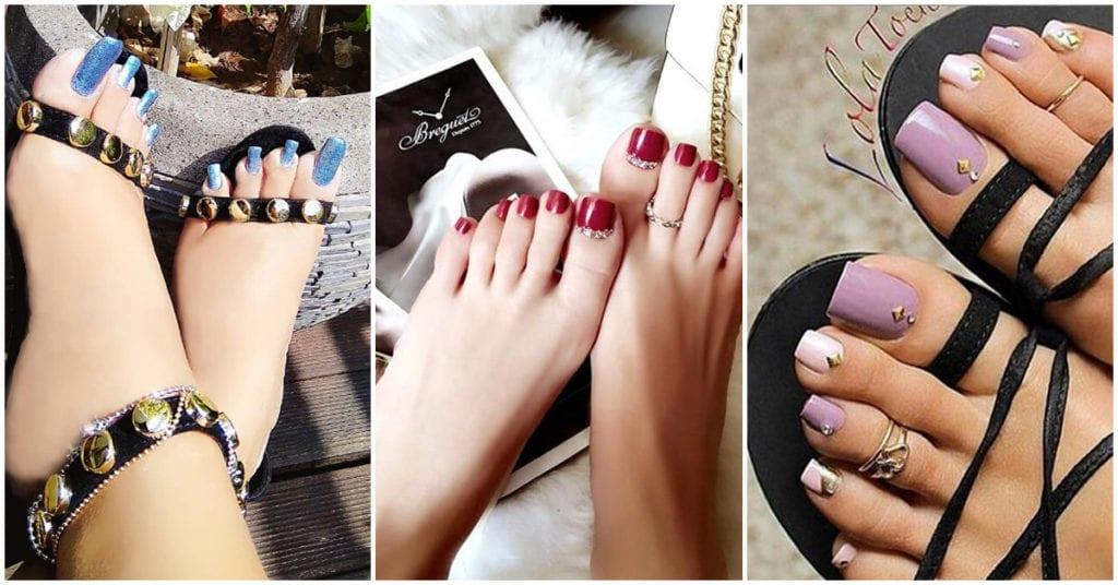 Uñas de acrílico para tus pies: ¿las amas o las odias?
