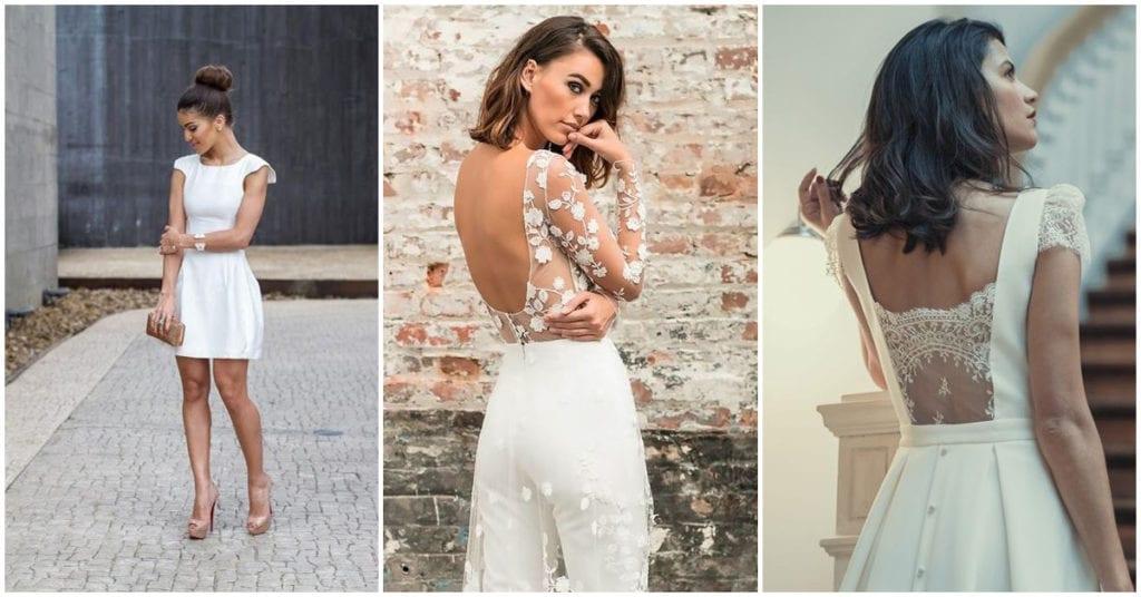 Outfits de boda para casarte por lo civil