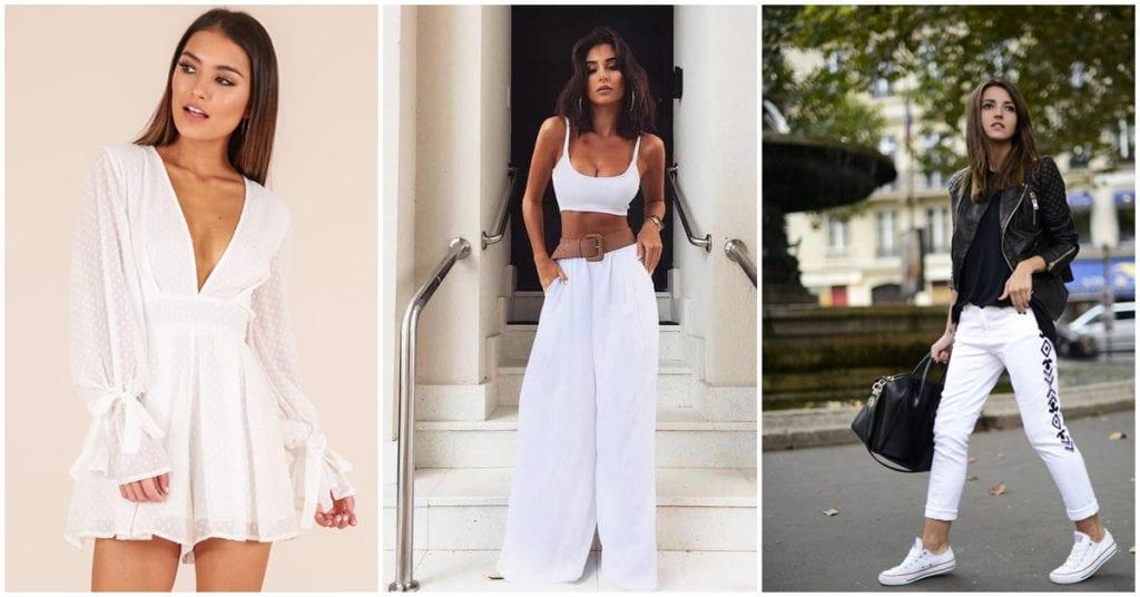 Cómo vestir de blanco como toda una reina