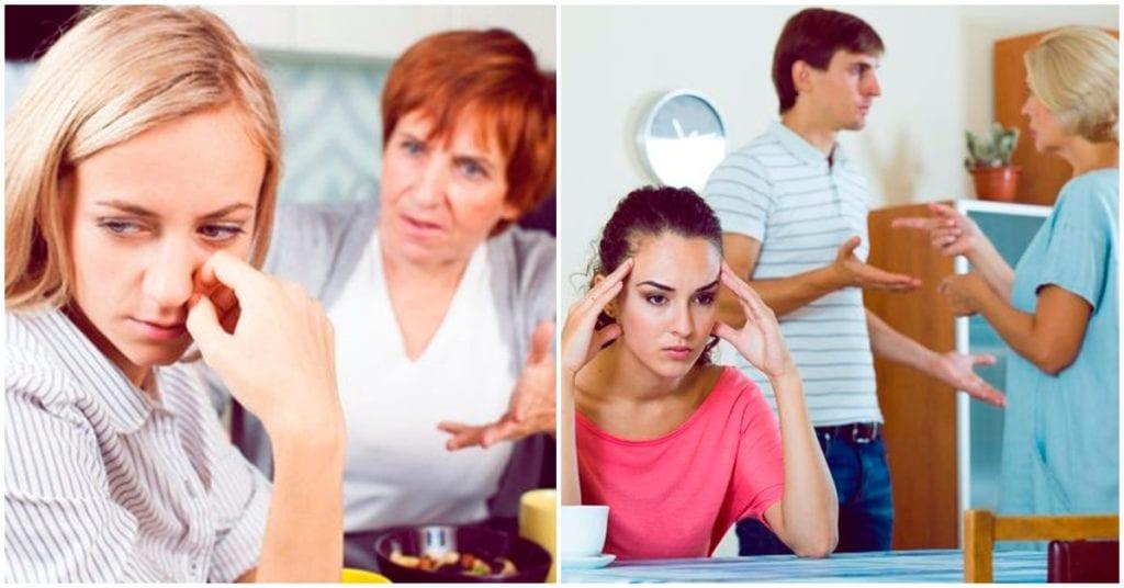 Qué hacer si en tu matrimonio manda tu suegra