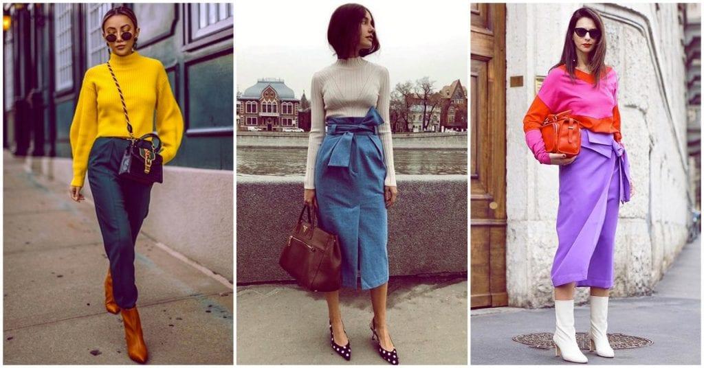 Outfits ideales para llenar de color tu vida