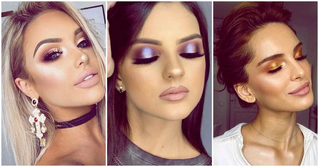 Cómo usar el makeup metálico en otoño