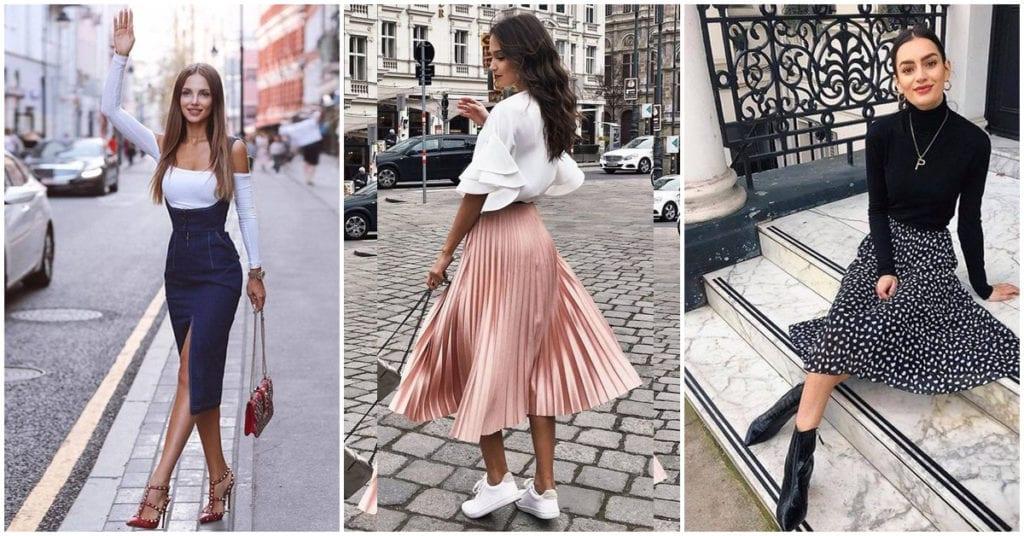 Cómo usar faldas largas para lucir sofisticada