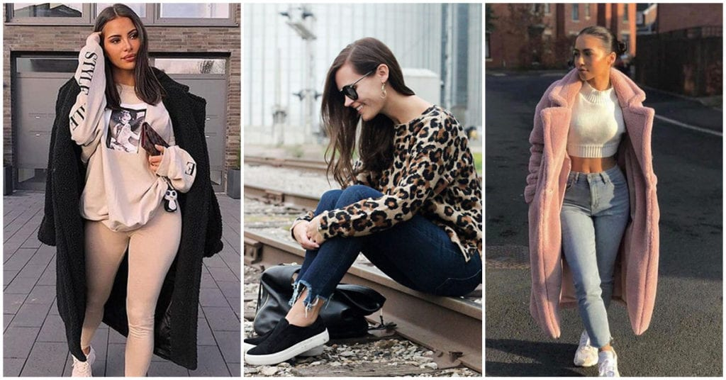 Outfits bonitos con los que puedes estar cómoda y calentita