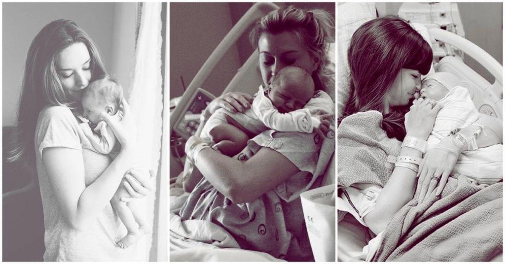La cruda realidad luego de tener un bebé