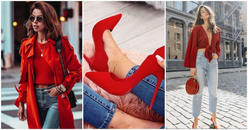 Reglas para usar ropa roja como toda una experta