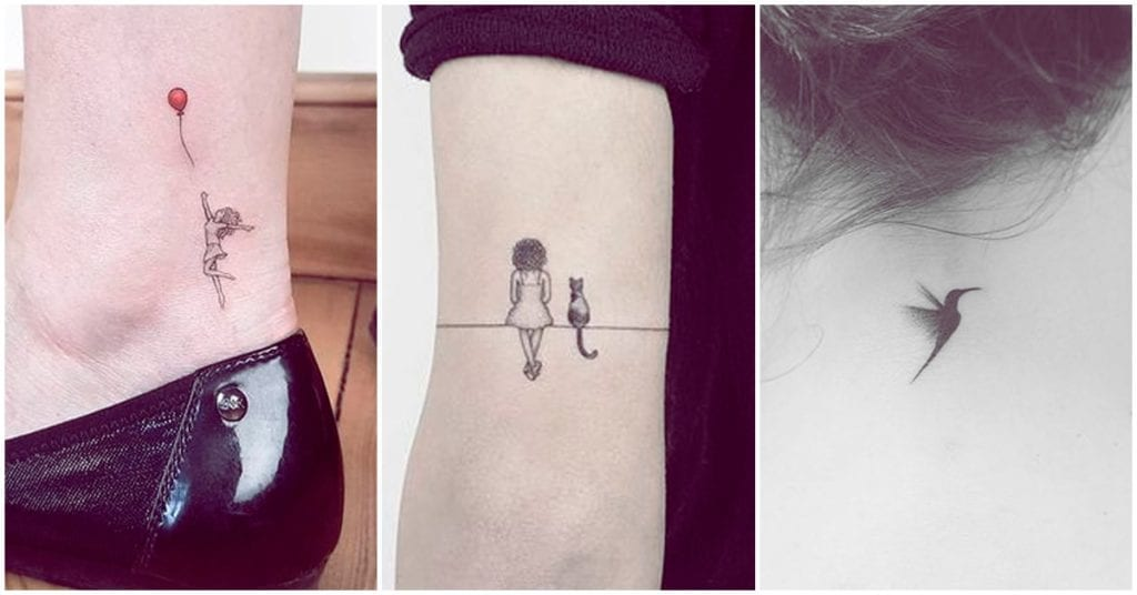 Micro tattoos que vas a querer plasmar en tu piel