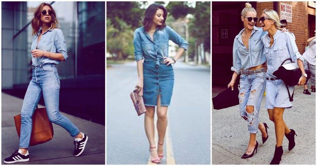 Total denim: cómo llevarlo y ser una diosa de la moda