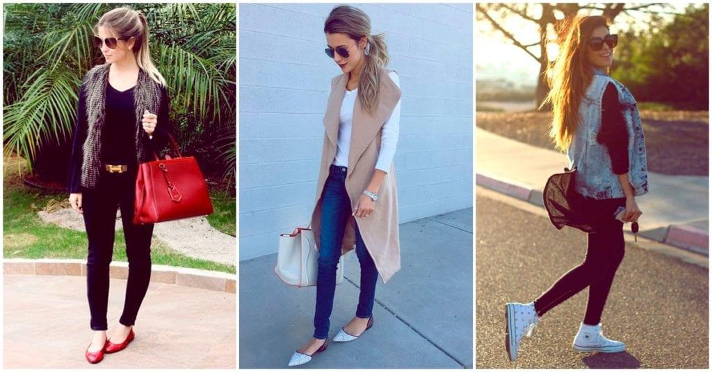 Chalecos que puedes usar en época de frío sin perder el estilo