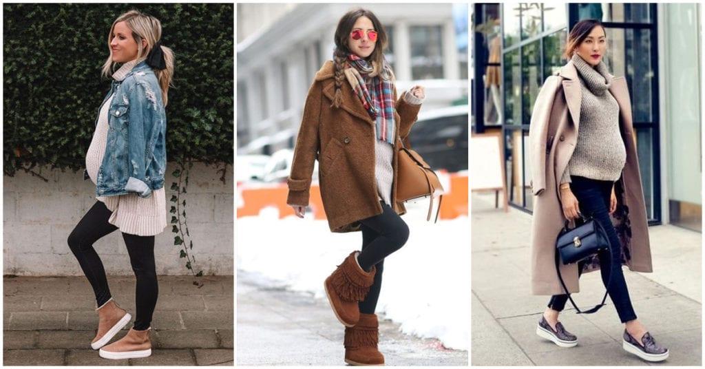 Embarazada, fashion y calentita ¡Estos son los mejores outfits!