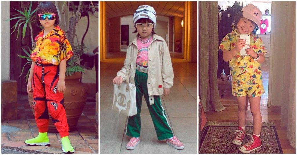 La bloggera de moda más famosa de Instagram tiene sólo 6 añitos