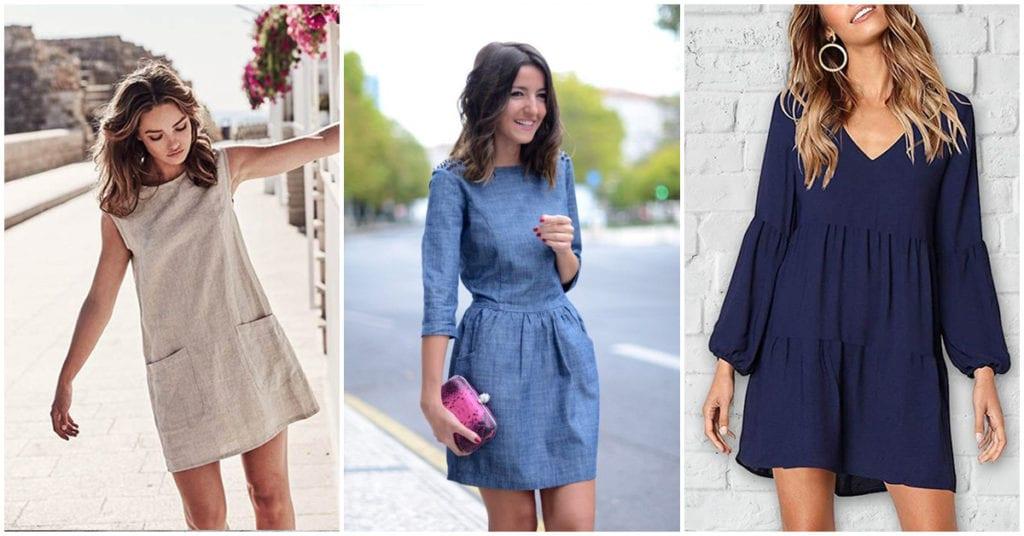 Vestidos casuales y sencillos que toda chica sofisticada tiene en su armario