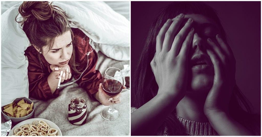 4 formas de lidiar con la depresión cuando estás harta de todo