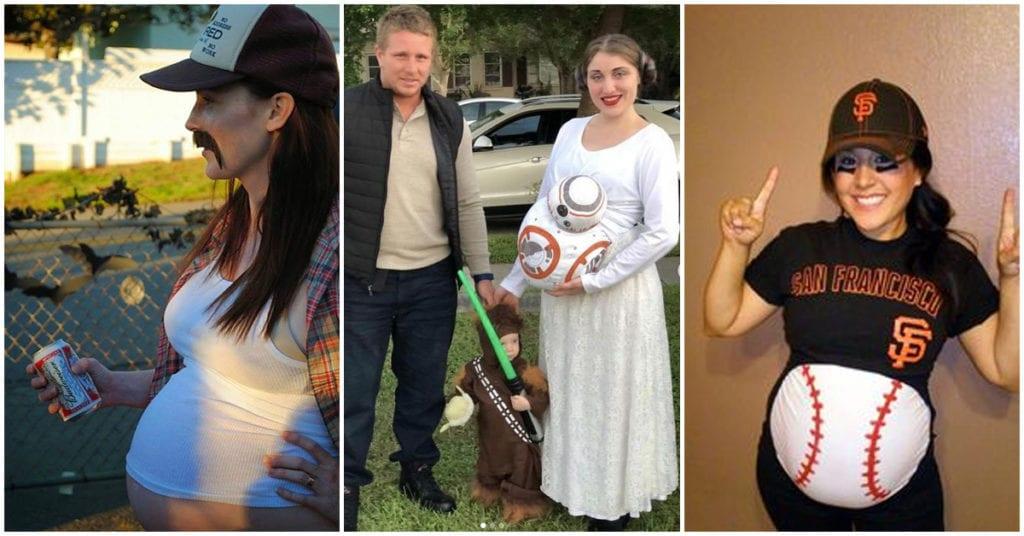 Cómo lucir guapa en halloween si estas embarazada
