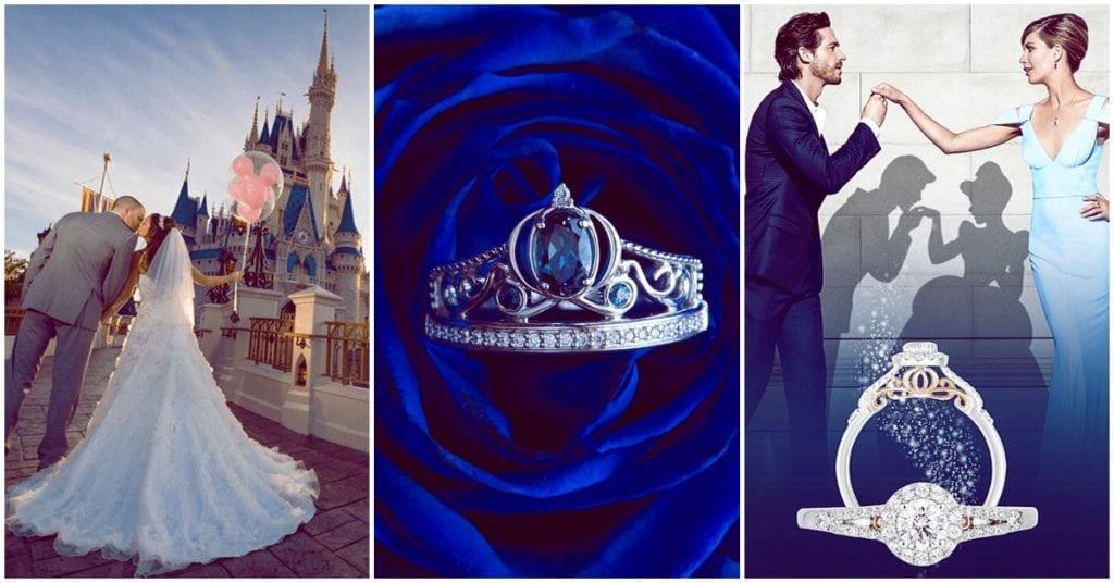 Anillos de las princesas Disney, una opción super cute si te vas a casar