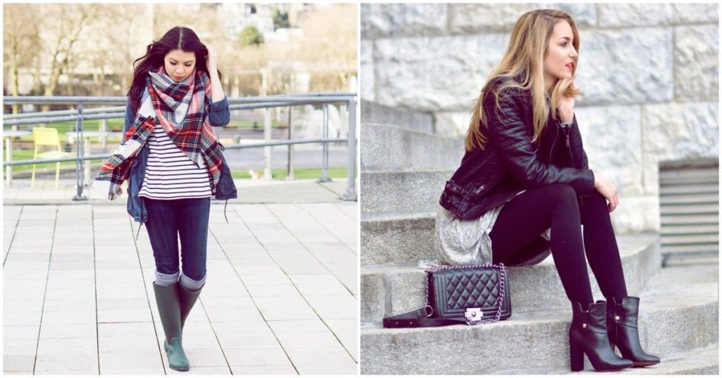 Zapatos super prácticos para los días muy fríos