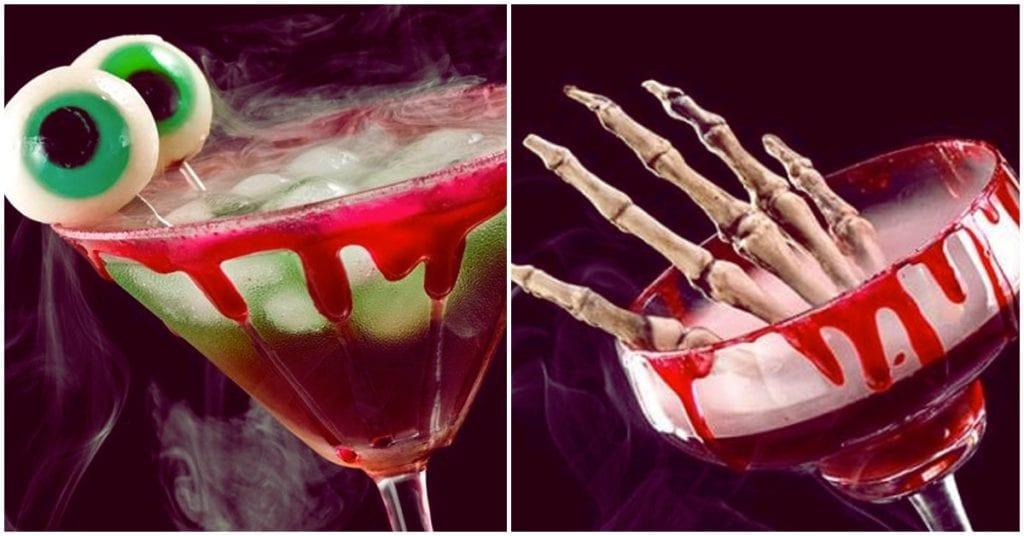 Bebidas divertidas para la fiesta de Halloween