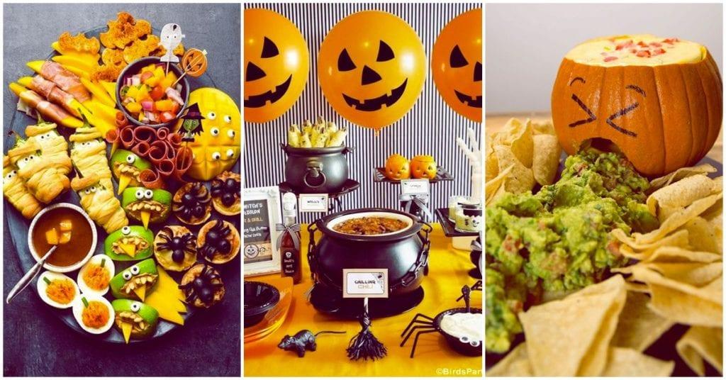 Bocadillos terroríficos, pero deliciosos para tu fiesta de Halloween