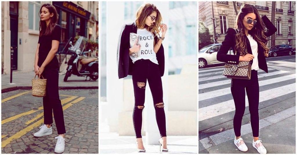 La mejor forma de reinventar tu estilo: unos pantalones negros