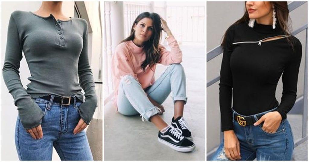 Las mejores blusas de manga larga para estar guapa y calentita