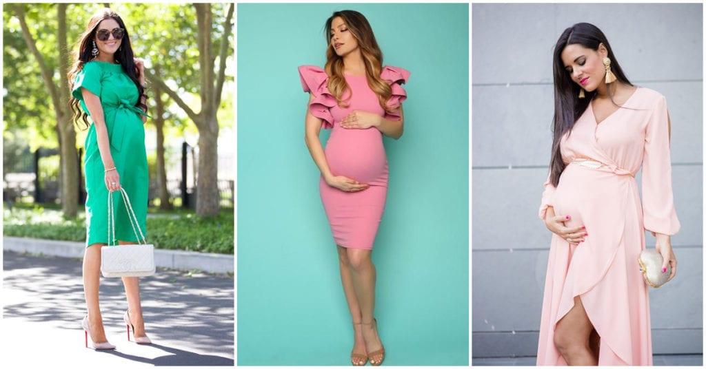 Vestidos bonitos para las futuras mamás