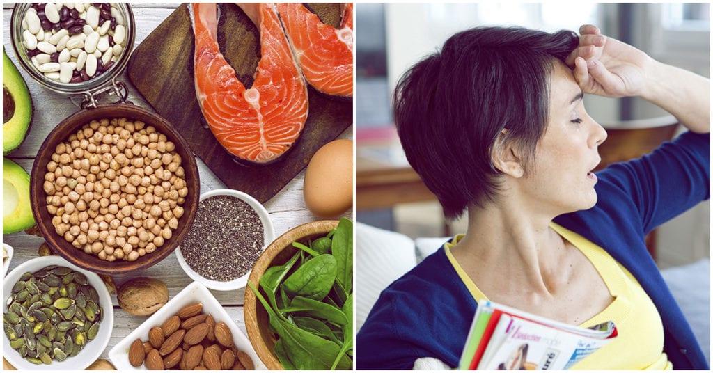 Qué comer para que la menopausia no te afecte